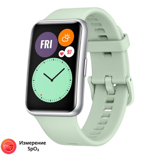 Смарт-Часы Huawei Watch Fit Active Mint Green