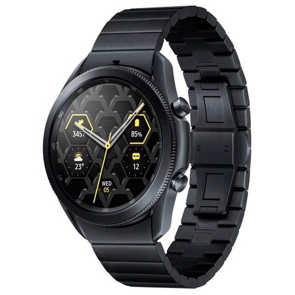 Смарт часы Samsung Galaxy Watch 3 Titanium 45mm Black (SM-R840NTKACIS)