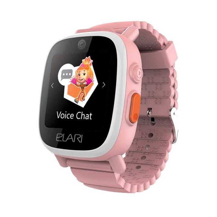 Детские смарт часы Elari Fixitime 3 Розовый