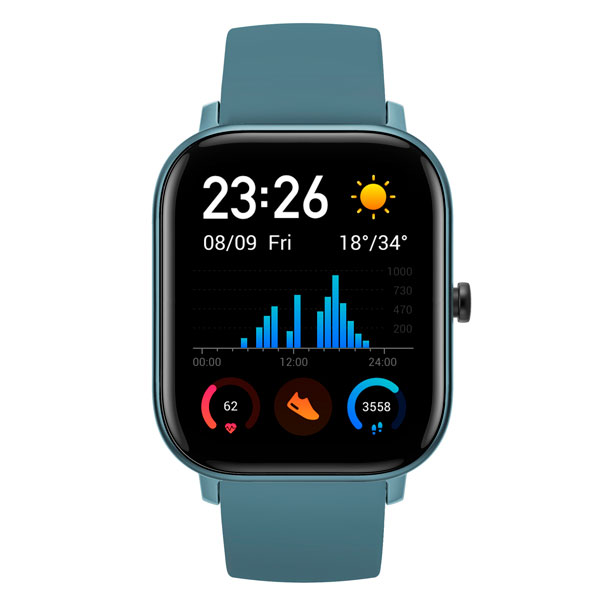 Смарт часы Xiaomi Amazfit GTS Blue (A1914)