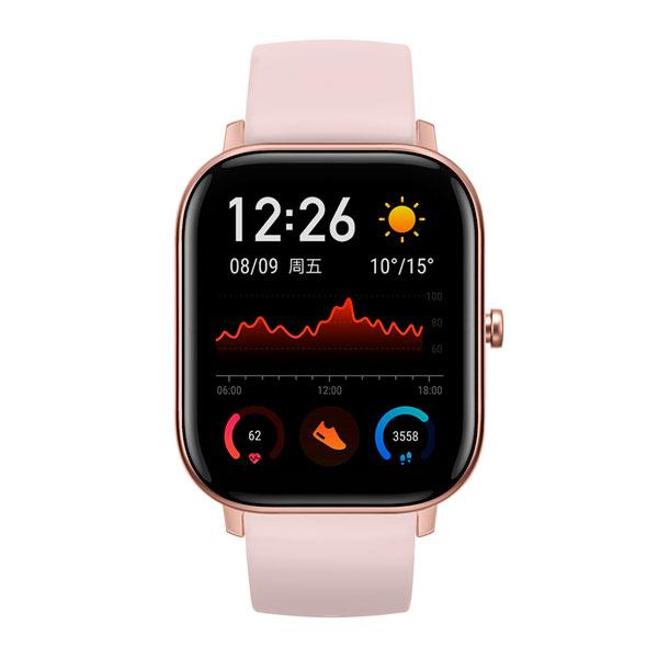 Смарт часы Xiaomi Amazfit GTS Pink (A1914)