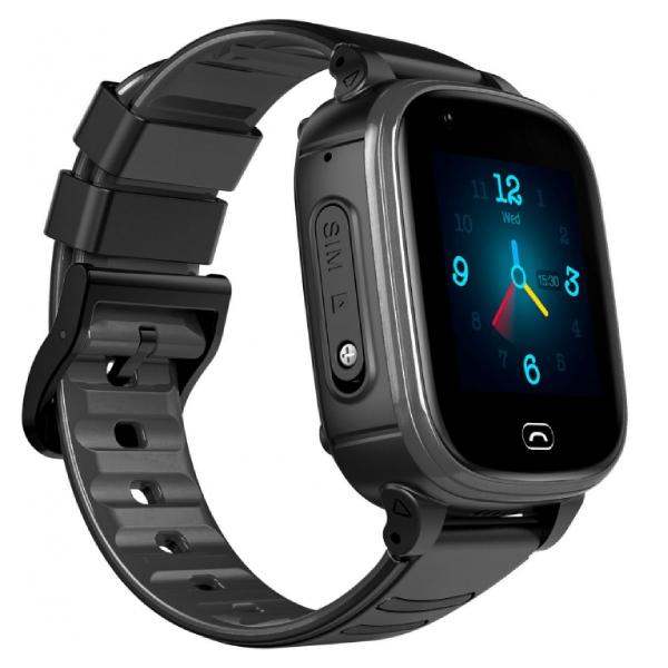 Смарт часы Jet Kid Vision 4G черный+серый