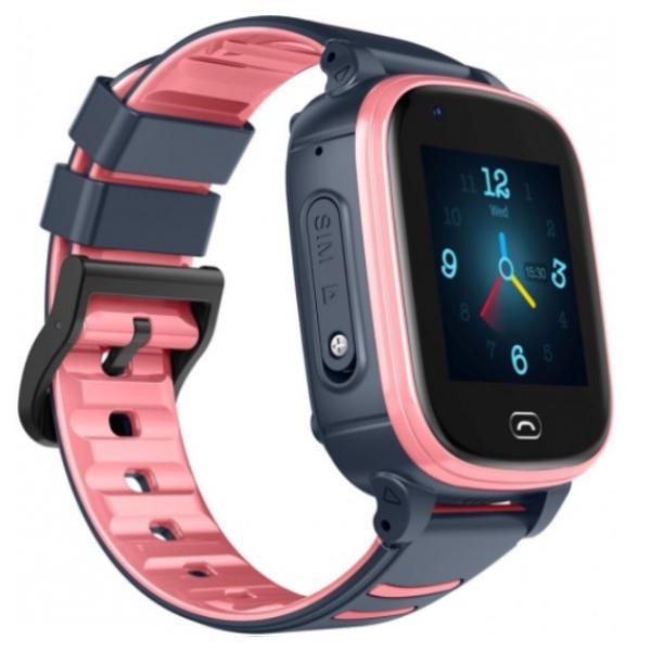 Смарт часы Jet Kid Vision 4G розовый-серый