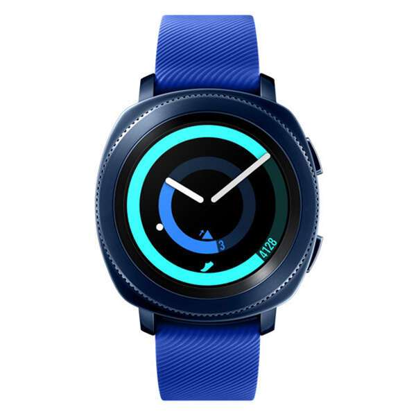 Смарт часы Samsung Gear Sport Blue, SM-R600NZBASKZ