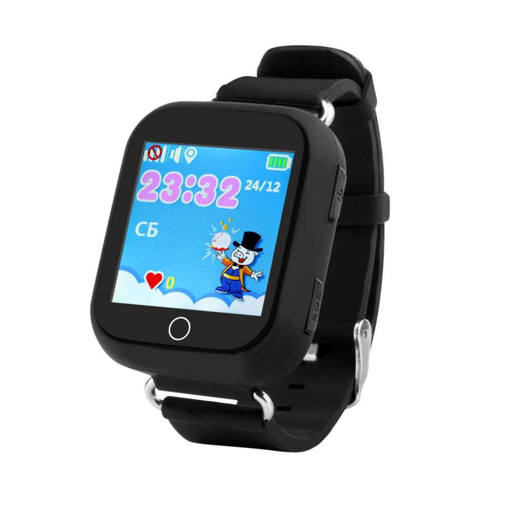 Смарт часы Wonlex Q100/ GW200s black