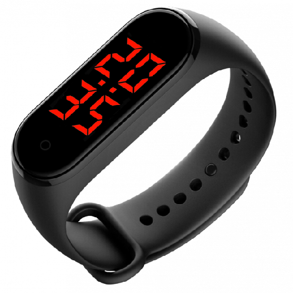 Смарт браслет-термометр Jet Health HB-1 черный