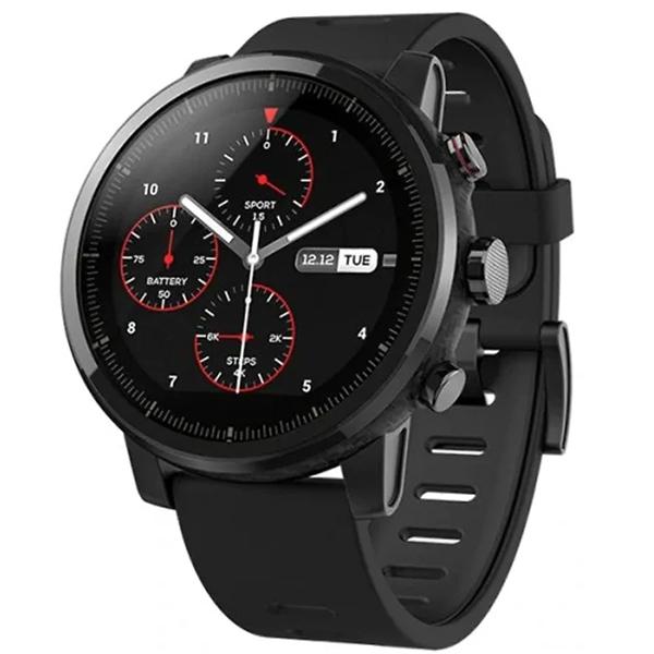 Смарт часы Xiaomi Amazfit Stratos+ Black