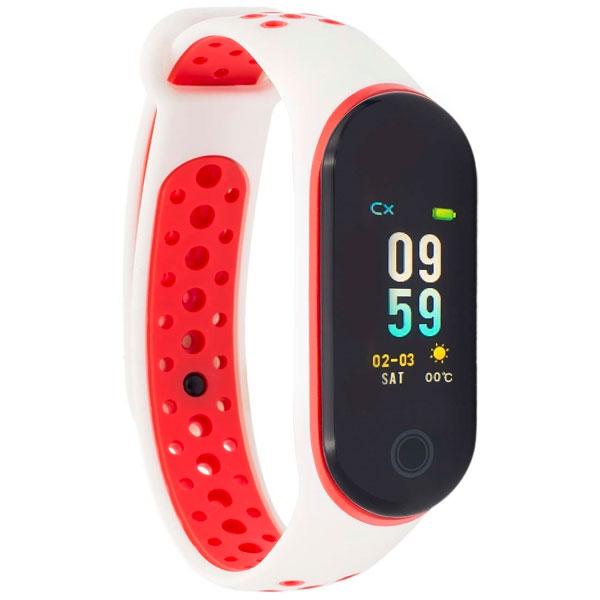 Фитнес браслет Qumann QSB 10 10283 White/Red