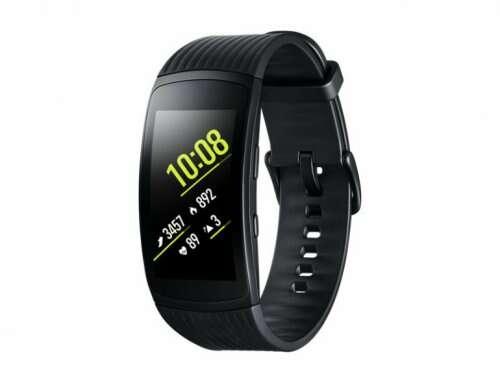 Фитнес-браслет Samsung Smart Fitness watch Samsung Gear Fit2 Pro (SM-R365NZKNSKZ) Black