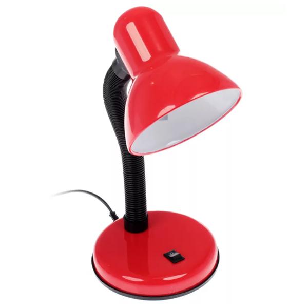 Настольный светильник ЭРА N-120-E27-40W-R красный (20/120)
