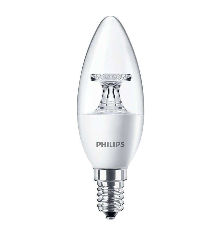 LED лампа Philips CorePro candle ND 5.5-40W E14 840 B35 FR