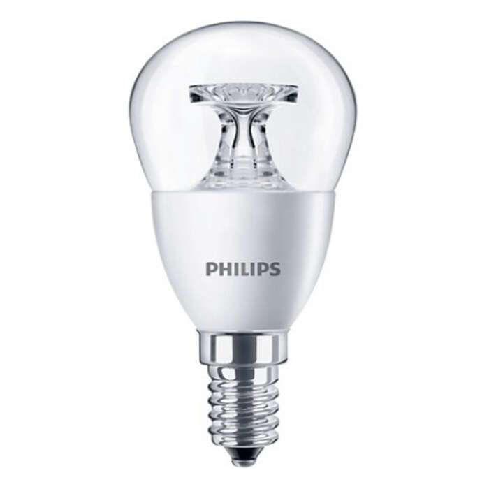LED лампа Philips 5.5-40W E14 2700K 230V P45 CL