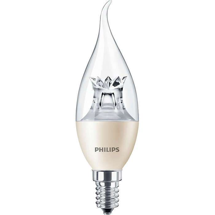 LED лампа Philips MAS Candle DT 6-40W E14 827 BA38