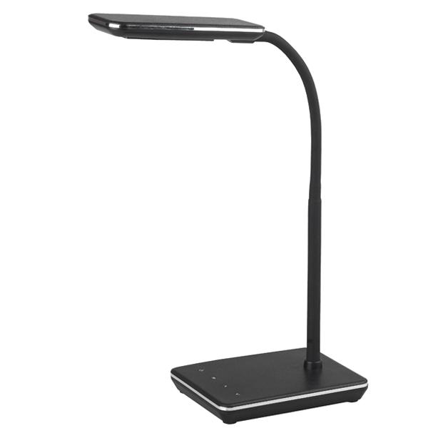 Настольный светильник Эра NLED-464-7W-BK