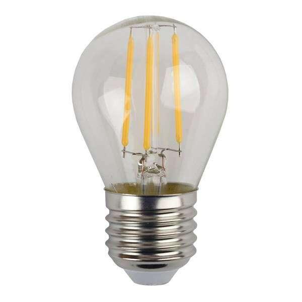 Лампа светодиодная ЭРА F-LED Р45-5w-827-E27