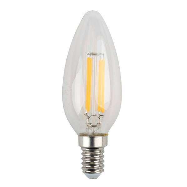 Лампа светодиодная ЭРА F-LED B35-5w-840-E14