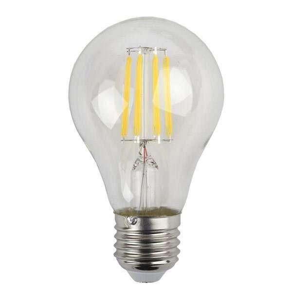Лампа светодиодная ЭРА F-LED А60-7w-840-E27