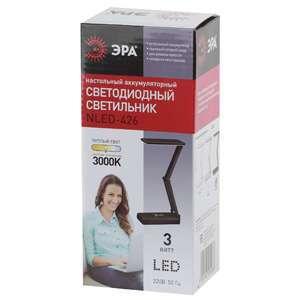 Настольный светильник ЭРА NLED-426-3W-BK (черный)