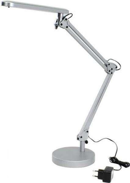 Настольный светильник ЭРА NLED-440-7W-S (серебро)