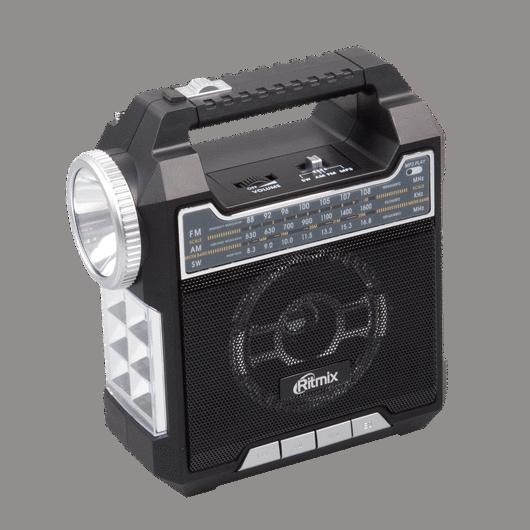 Радиоприемник портативный Ritmix RPR-444 BLACK