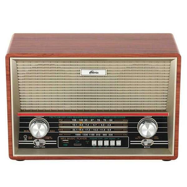 Портативный радиоприемник Ritmix RPR-102 buk