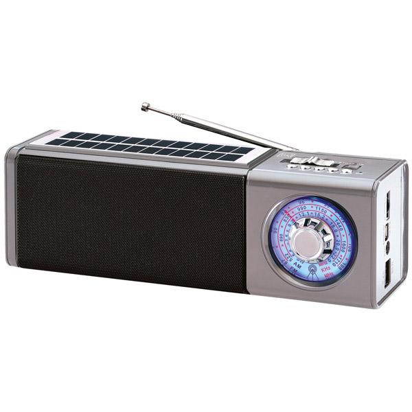 Портативный радиоприемник MAX MR-400 Серебро