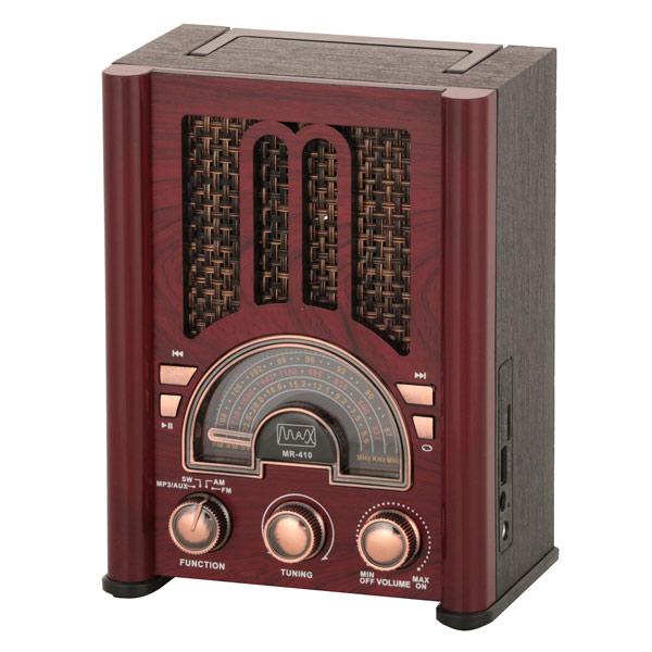 Радиоприемник в стиле ретро MAX MR-410