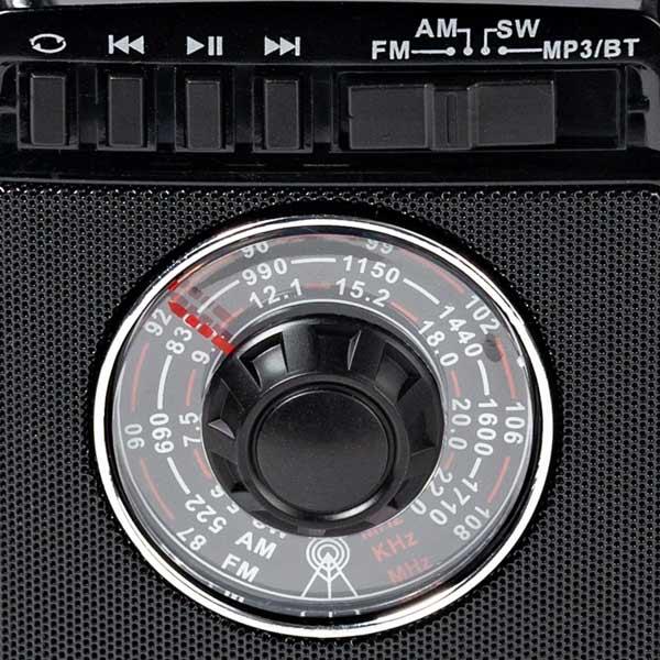 Портативный радиоприемник MAX MR-322 (Черный)