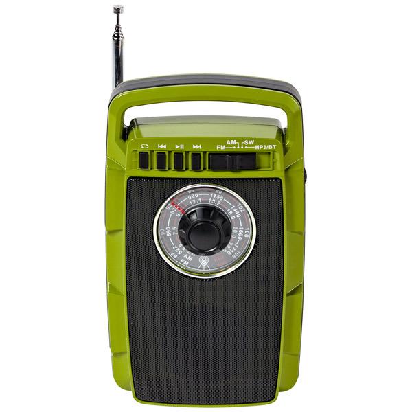 Портативный радиоприемник MAX MR-322 (Зеленый)