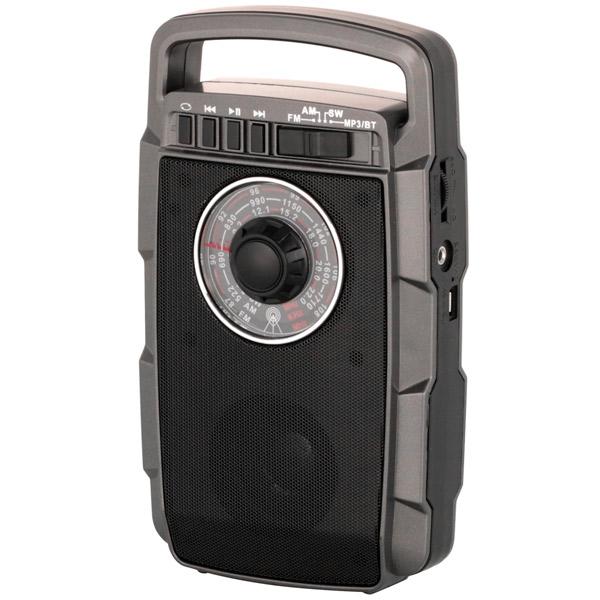 Портативный радиоприемник MAX MR-322 (Антрацит)