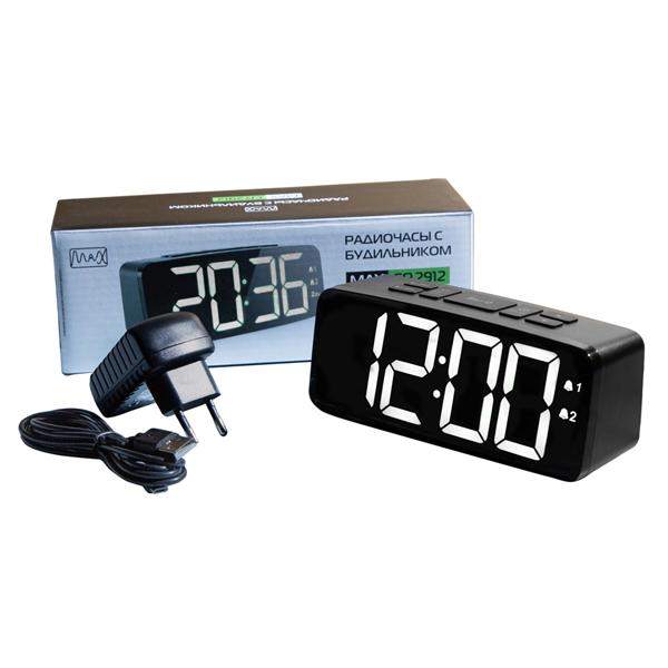 Радиочасы с будильником MAX CR-2913