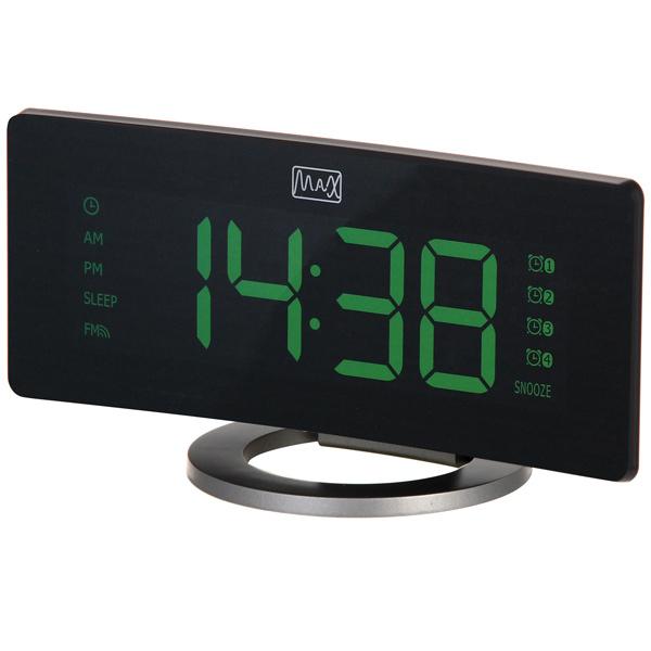 Радиочасы с будильником MAX CR-2914