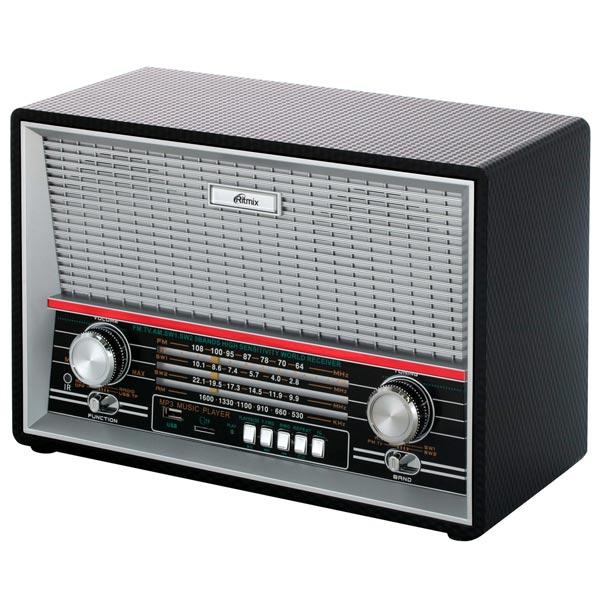 Портативный радиоприемник Ritmix RPR-102 BLACK