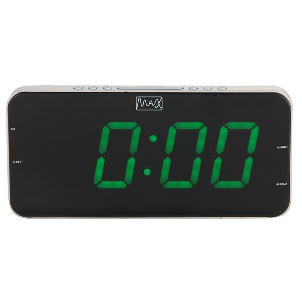 Радиочасы с будильником MAX CR-2909