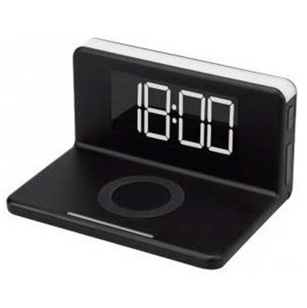 Часы с беспроводной зарядкой Max М-010 Черные