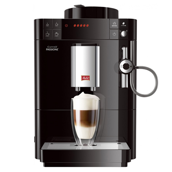 Автоматическая кофемашина Melitta Caffeo passione black F53/0-102 EU