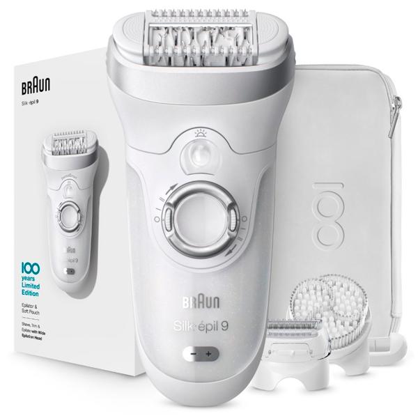 Электрический эпилятор Braun Silk-epil 9 MBSES9 MaxBraun Wet&Dry