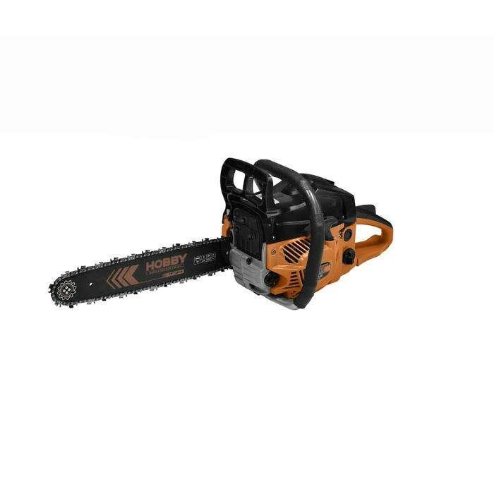 "Пила CARVER HOBBY HSG 145-15, бензиновая, шина 15"", 0.325-1.5-64 зв., 45 куб.см, 2.5 л.с"