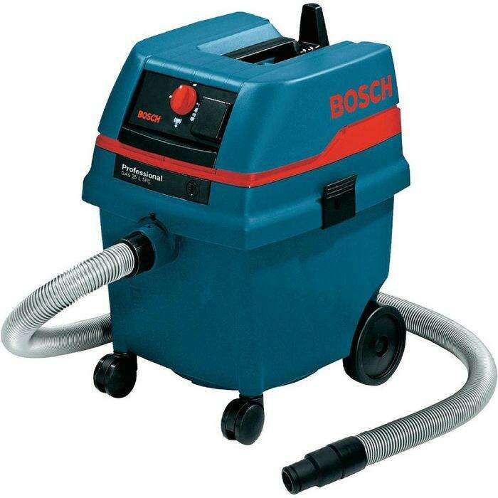 Пылесос Bosch GAS 25 L SFC (0601979103), 1200Вт, контейнер 25 литров, шланг 3 метра