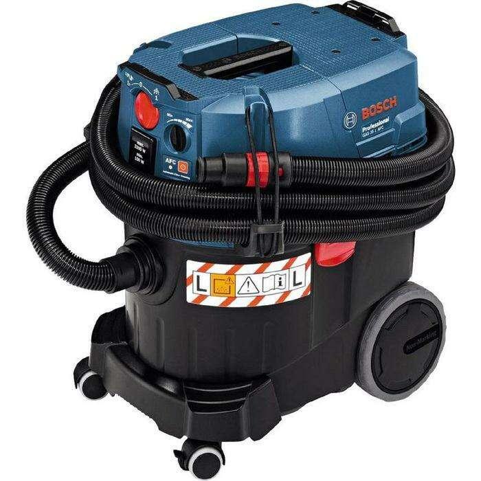 Пылесос Bosch GAS 35 L AFC (06019C3200), 1200Вт, контейнер 35 литров, шланг 5 метров
