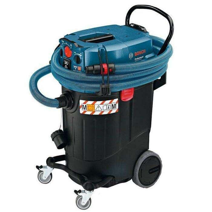 Пылесос Bosch GAS 55 M AFC (06019C3300), 1200Вт, контейнер 55 литров, шланг 5 метров