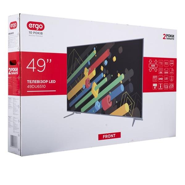 LED телевизор ERGO 49DU6510