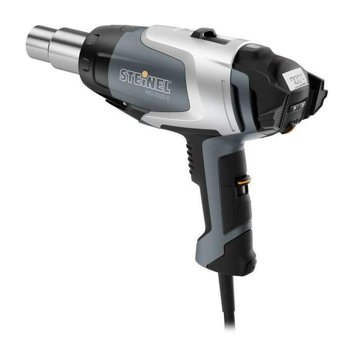 Фен технический Steinel HG 2520 E, 2300 Вт, 50-700 °C, 150-500 л/мин, ЖК-дисплей, 3 м, кейс   410298