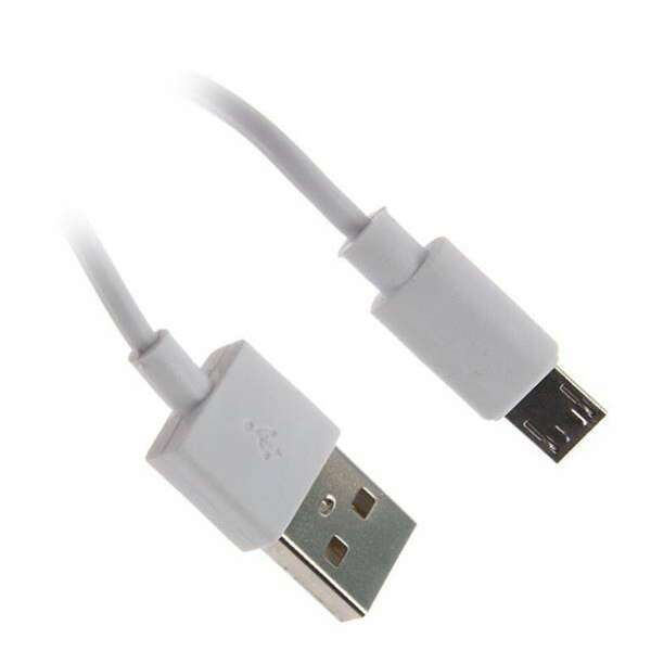 Кабель Continent USB-microUSB DCU-4104WT White