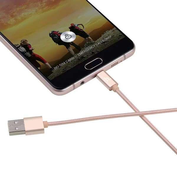 MicroUSB кабель Hoco X2 Золотой