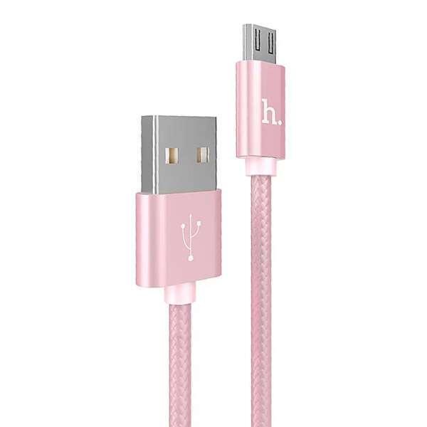 MicroUSB кабель Hoco X2 Розовый