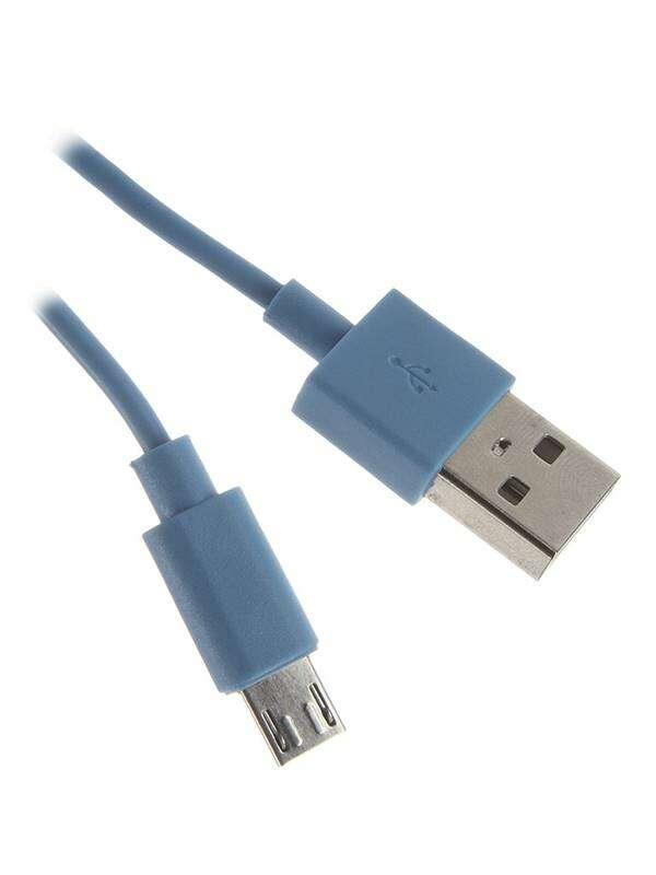 Кабель USB - микро USB В 2.0 Continent USB Type-А-microUSB DCU-4104NV 1м