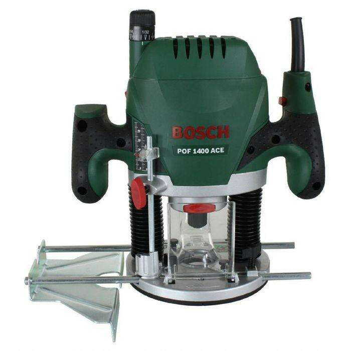 Фрезер Bosch POF 1400 ACE (060326C820), 1400Вт, цанга 6-8мм, 28000 об/мин