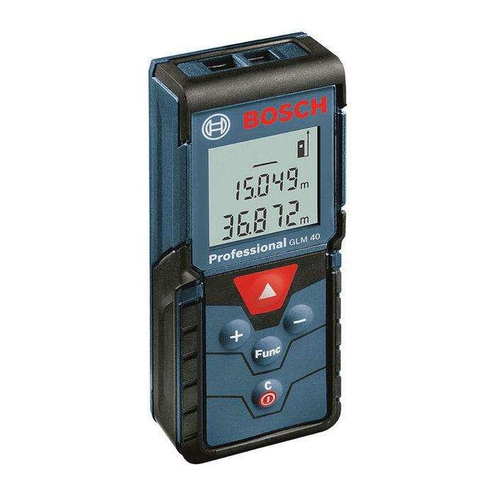 Лазерный дальномер Bosch GLM 40 (0601072900), IP54, 0,15-40м, ± 1,5мм, площадь/объем