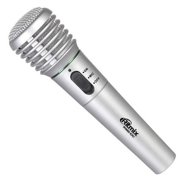 Микрофон Ritmix RWM-100 titanium